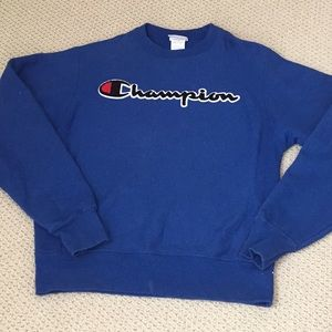 Mens Champion crew neck sweatshirt